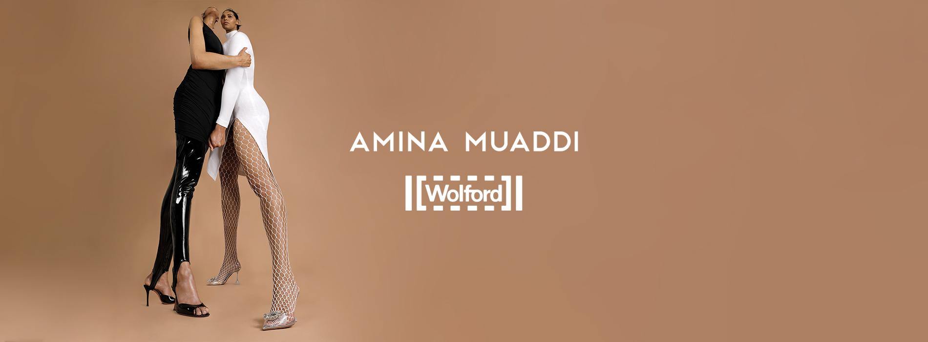 Amina Muaddi x Wolford